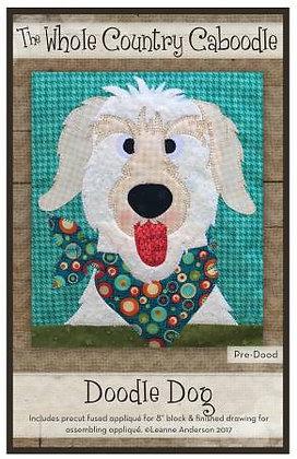 Doodle Dog - Precut Fused Applique Pack