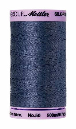 Mettler 100% Cotton Thread (60 wt) - Blue Shadow #0311
