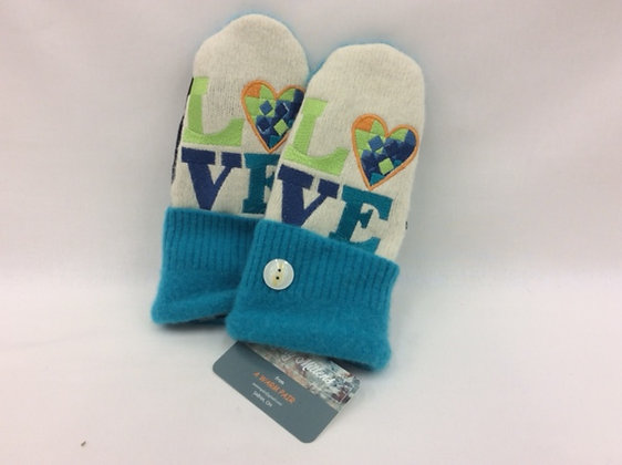Quilty Mittens - assorted