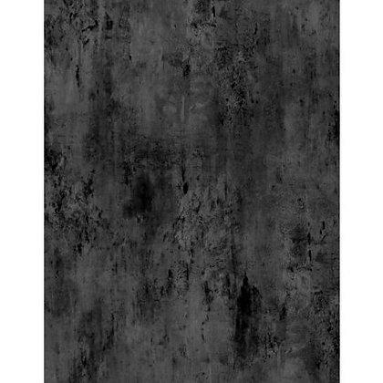 Vintage Texture - Black - 1/2 meter