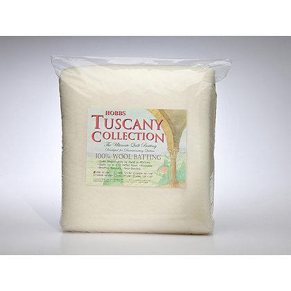 "Hobbs Tuscany Wool Batting - Full - 81"" x 96"""