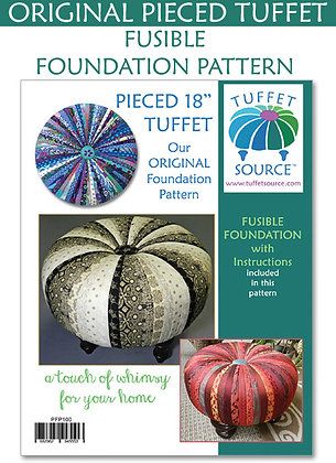 Tuffet Fusible Foundation with Instructions - 18""