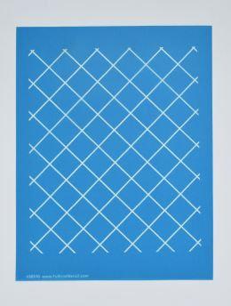 "Stencil - 1"" Grid"