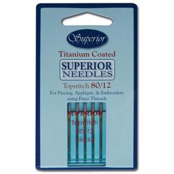 Superior Topstitch Needles #80/12