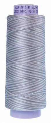 Mettler 100% Cotton Multi Thread (50 wt) - Dove Gray #9860