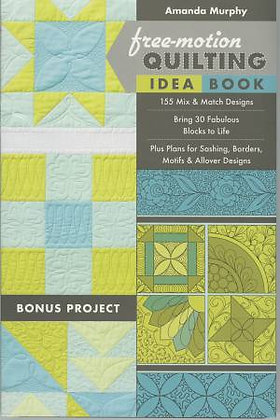 Free-Motion Quilting Idea Book - Amanda Murphy