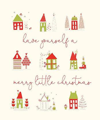 Merry Little Christmas Panel