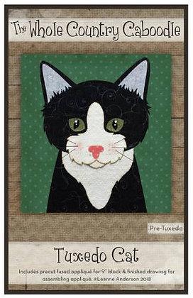Tuxedo Cat - Precut Fused Applique Pack