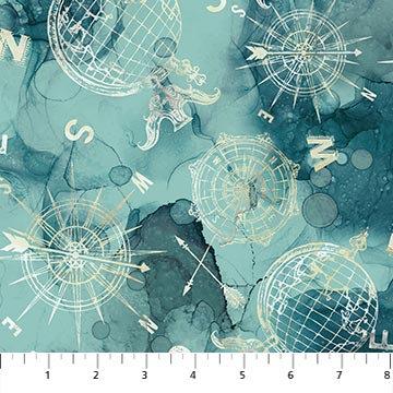 Journey - Compass Toss Teal - 1/2 meter