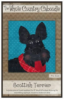 Scottish Terrier - Precut Fused Applique Pack