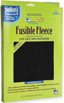 Fusible Fleece Black