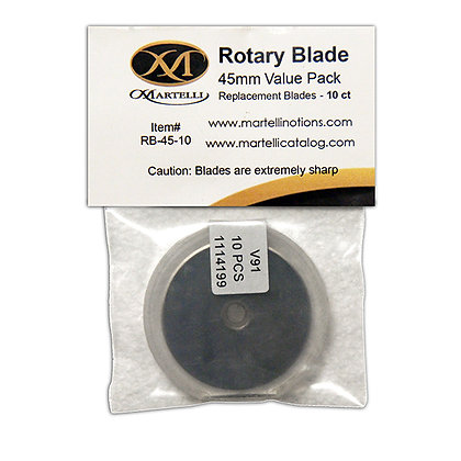 Martelli Rotary Blades 45mm - 10 Count