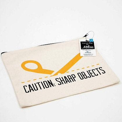 Melissa Mortenson Small Canvas Bag Sharp Objects