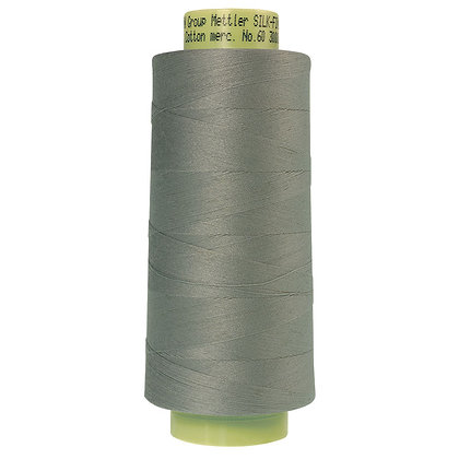 Mettler 100% Cotton Thread (60 wt) - Silver Grey #1340