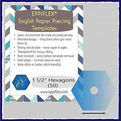 "EPP Templates - Eppiflex Hexagon - 1-1/2"""