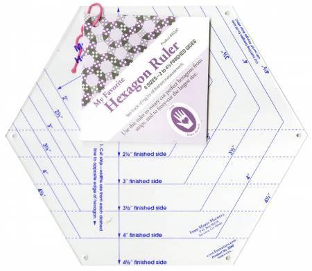 Hexagon Ruler - Marti Michell