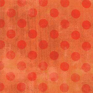 Grunge Spots - Papaya - 1/2 m