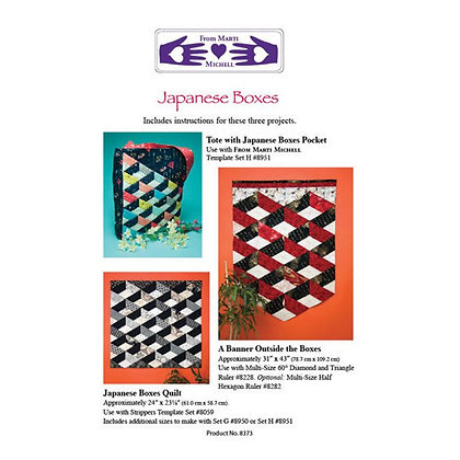 Japanese Boxes Pattern - Marti Michell