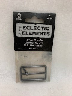 Tim Holtz Eclectic Elements Large Buckle - 1-1/2""