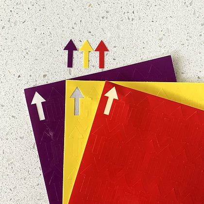 Ruler Stickers - Fruity Fiesta Palette - GE Designs