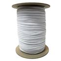 """Elastic - 1/8"""" (3mm) - White (10m pkg)"""