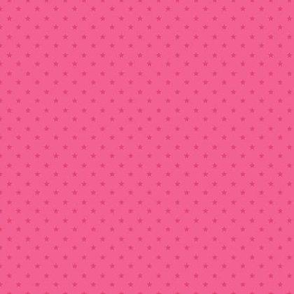 Essentials - Stars Dark Pink - 1/2 meter