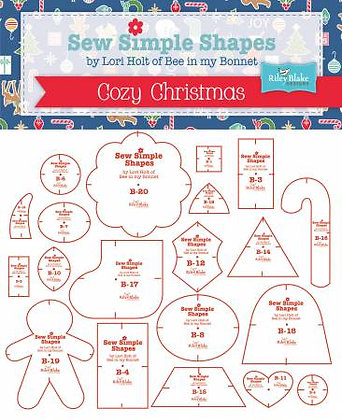 Sew Simple Shapes - Cozy Christmas