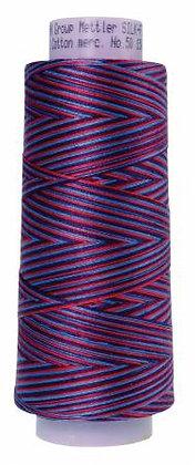 Mettler 100% Cotton Multi Thread (50 wt) - Berry Rich #9816