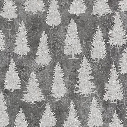 Winter's Grandeur 8 - Grey Trees - 1/2 meter