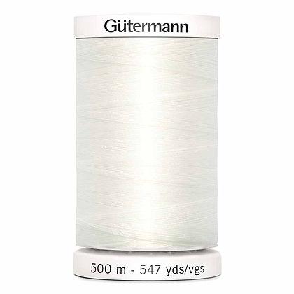 Gutermann 100% Polyester Thread - 500m - Oyster