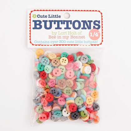 Cute Little Buttons - 1/4""