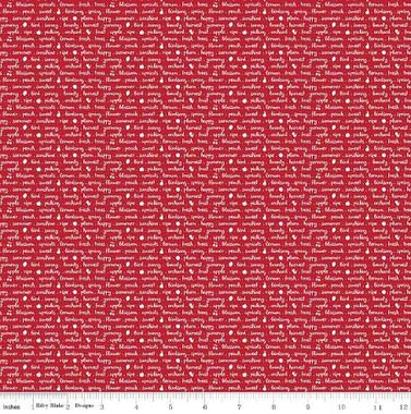 Sweet Orchard Red #C5484 - 1/2 meter