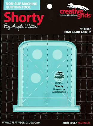 Shorty Machine Quilting Ruler