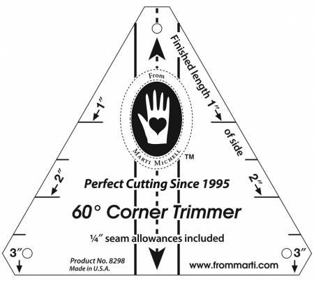 60 Degree Corner Trimmer - Marti Michell