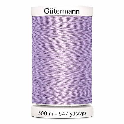 Gutermann 100% Polyester Thread - 500m - Light Lilac