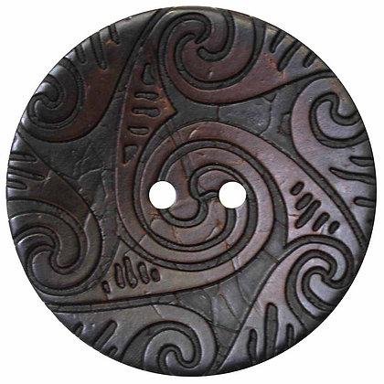 2 Hole Button - 41mm (1-5/8″) - Coconut