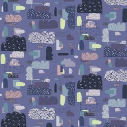 Mystical - Cloud Nine Blue Violet - 1/2 meter