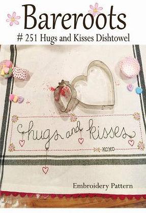 Bareroots #251 Hugs and Kisses Dishtowel Kit