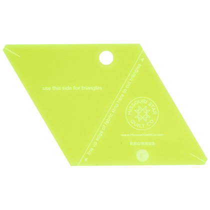 Rhombus Small Template