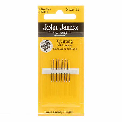 John James Quilting Needles - Size 11