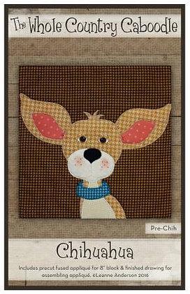 Chihuahua - Precut Fused Applique Pack