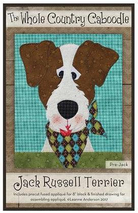 Jack Russell Terrier - Precut Fused Applique Pack