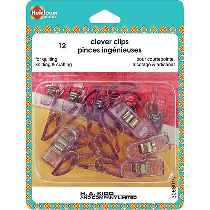 Clever Clips - Small - 12 pcs.