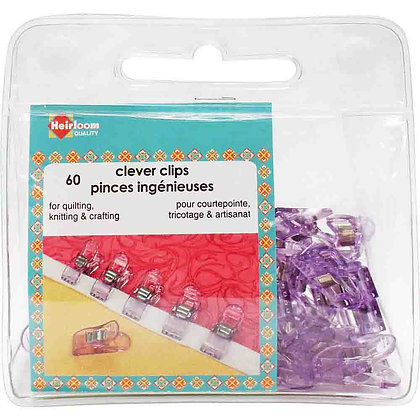 Clever Clips - Small - 60 pcs.