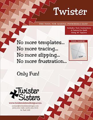 "Twister - 10"" Squares"
