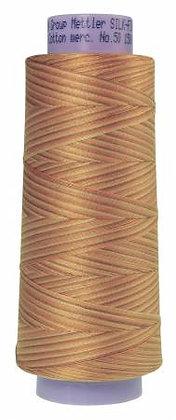 Mettler 100% Cotton Multi Thread (50 wt) - Bleached Straw #9855
