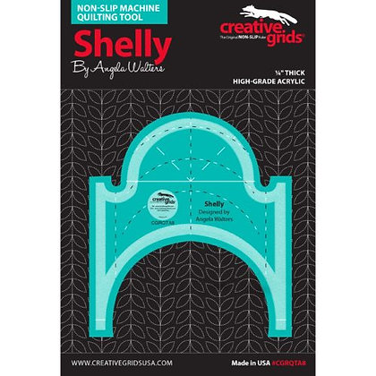 Shelly Machine Quilting Ruler
