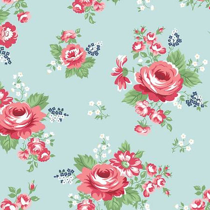 Notting Hill - Large Floral Songbird - 1/2 meter