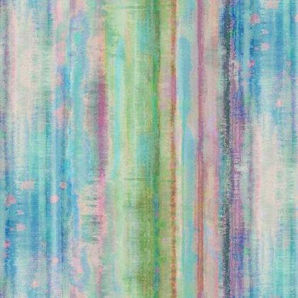 Tahiti Dreams Blue - Wideback - 1/2 meter