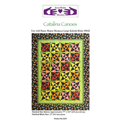 Catalina Canoes Pattern - Marti Michell